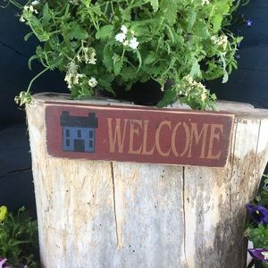 Welcome Sign Small